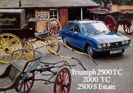 Triumph 2500 TC UK